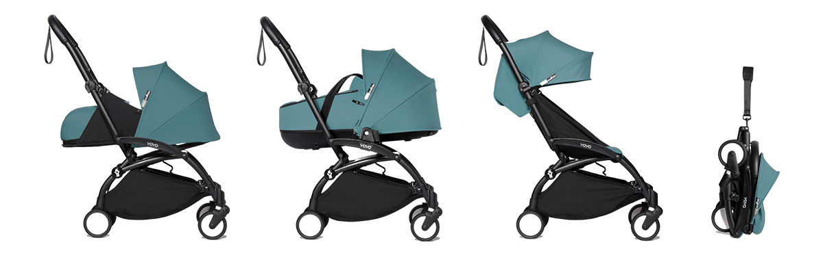 'bassinet black fram aqua'